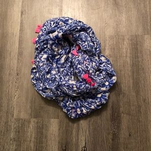 NWOT Lilly Pulitzer Loop Infinity Scarf